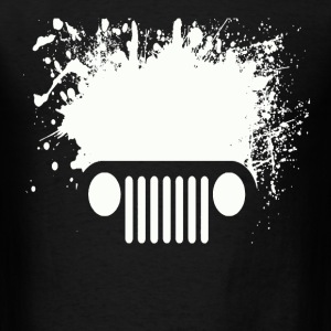 splatter car - Men's T-Shirt