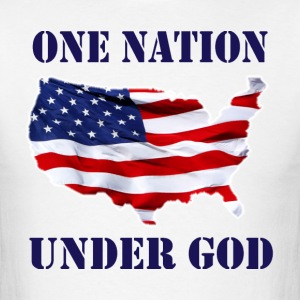 ONE NATION UNDER GOD T-Shirts - Men's T-Shirt