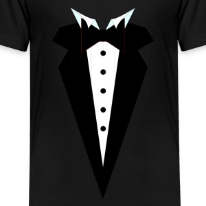 Tuxedo Wedge Baby & Toddler Shirts - Toddler Premium T-Shirt