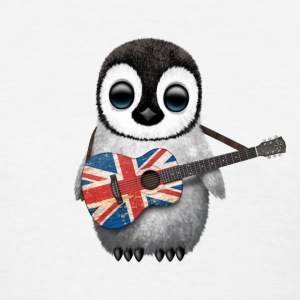 British Guitar Penguin Women's T-Shirts - Women's T-Shirt
