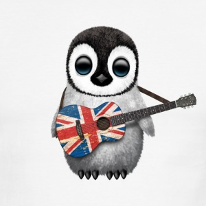 British Guitar Penguin T-Shirts - Men's Ringer T-Shirt