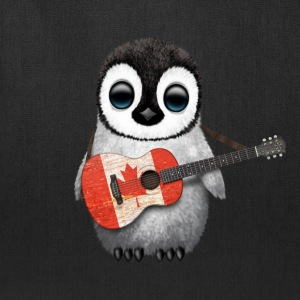 Canada Guitar Penguin Bags & backpacks - Tote Bag