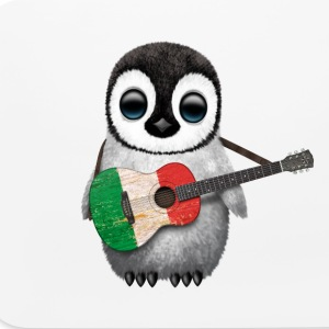 Italian Guitar Penguin Other - Mouse pad Horizontal