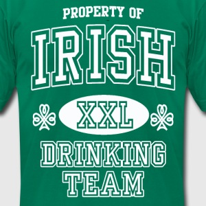 St Patrick's Irish Drinking Team T-Shirts - Men's T-Shirt by American Apparel