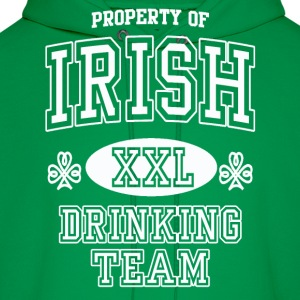 St Patrick's Irish Drinking Team Hoodies - Men's Hoodie