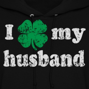 I love my Irish husband Hoodies - Women's Hoodie