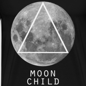 Moon Child Triangle T-Shirts - Men's Premium T-Shirt