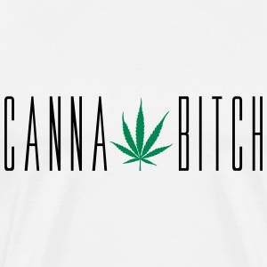 Cannabitch T-Shirts - Men's Premium T-Shirt