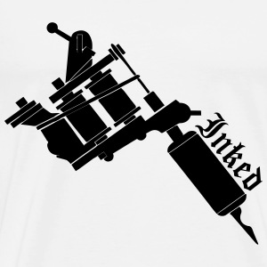 Inked Tattoo Gun T-Shirts - Men's Premium T-Shirt