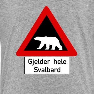 Polar Bear, Svalbard - Norway - Kids' Premium T-Shirt