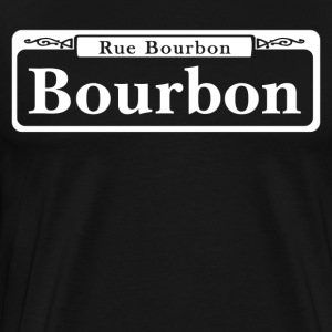 Bourbon St., New Orleans - USA  - Men's Premium T-Shirt