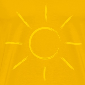 sun sunbeam summer vacation T-Shirts - Men's Premium T-Shirt