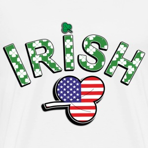 Irish American. - Men's Premium T-Shirt