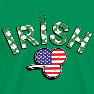 Irish American - Men's Premium T-Shirt