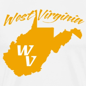 West Virginia WV State T-Shirt - Men's Premium T-Shirt
