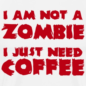 Zombie Coffee Zombie T-Shirt - Men's Premium T-Shirt