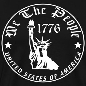 We The People USA Liberty T-Shirt - Men's Premium T-Shirt