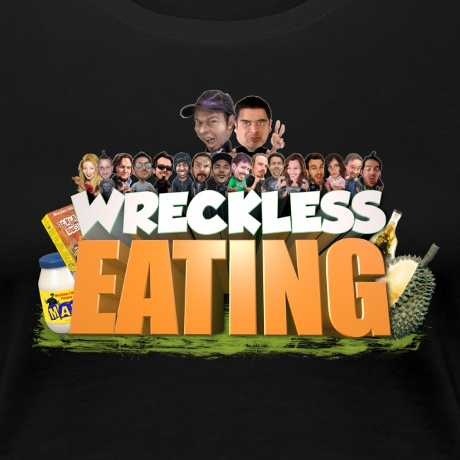Wreckless Eating Cast Shirt (Women's)