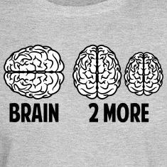 Brain 2More Long Sleeve Shirts