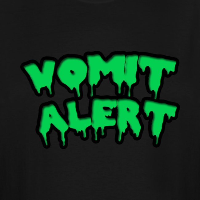 Vomit Alert Tall Shirt