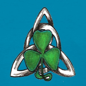 Celtic knot with shamrock - Women's T-Shirt