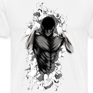 Attack on Wall - Men's Premium T-Shirt