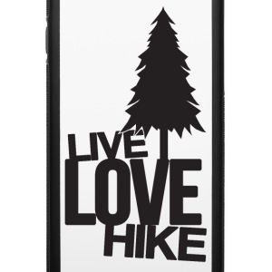 Live Love Hike | Hiking Accessories - iPhone 6/6s Rubber Case