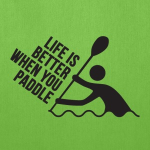 Live Love Paddle | Kayak Bags & backpacks - Tote Bag