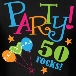 50th Birthday Party 50 years T-Shirts - Men's T-Shirt