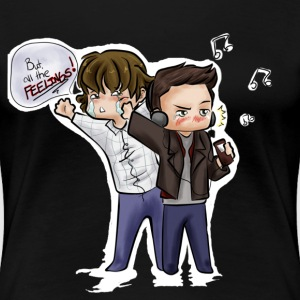 Supernatural Feels Women's T-Shirts - Women's Premium T-Shirt