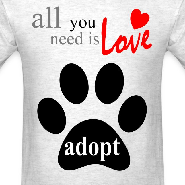 ALL YOU NEED IS LOVE-ADOPT