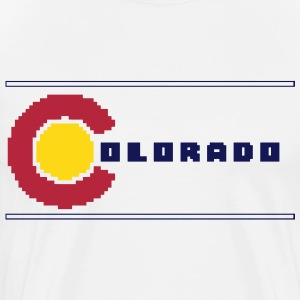 8-Bit Colorado - Men's Premium T-Shirt