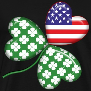 An Irish American. - Men's Premium T-Shirt