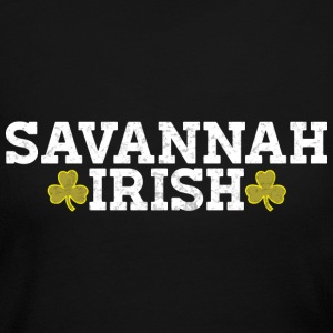 Savannah Georgia Irish Pride Shamrock Shirt  Long Sleeve Shirts - Women's Long Sleeve Jersey T-Shirt