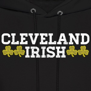Cleveland Ohio Irish Pride Shamrock Shirt Ireland Hoodies - Men's Hoodie