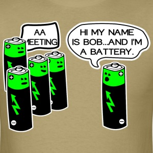 Aa battery meeting - Men's T-Shirt