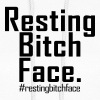 RESTING BITCH FACE | restingbitchface Hoodies - Women's Hoodie