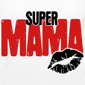 Super Mama Tanks - Women's Premium Tank Top