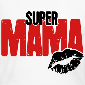 Super Mama Long Sleeve Shirts - Women's Long Sleeve Jersey T-Shirt