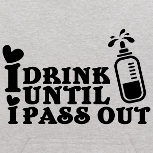 I drink until I pass out Sweatshirts - Kids' Hoodie
