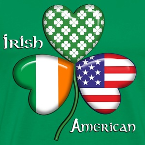 Irish And American - Men's Premium T-Shirt