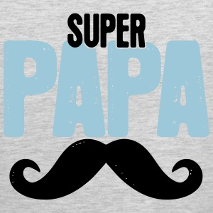 Super Papa Tank Tops - Men's Premium Tank