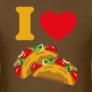 I Love Tacos T-Shirts - Men's T-Shirt