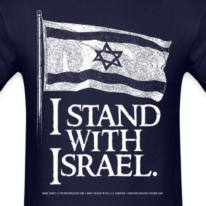 I Stand With Israel T-Shirts - Men's T-Shirt