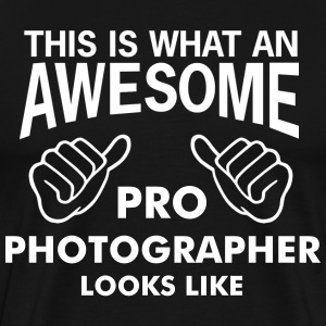 this is what an awesome photographer looks like - Men's Premium T-Shirt