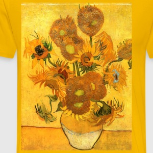 Sunflowers Van Gogh T-SHIRT - Men's Premium T-Shirt