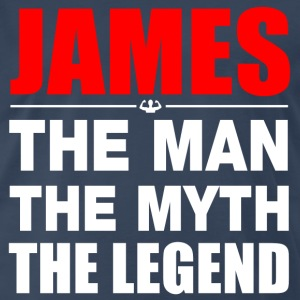 James Man Myth Legend T-Shirts - Men's Premium T-Shirt