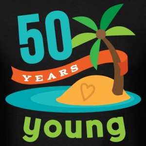 50th Birthday Tropical Island T-Shirts - Men's T-Shirt
