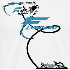 Flyboard spread 2 T-Shirts - Men's Premium T-Shirt