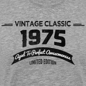 Birthday 1975 Vintage Classic Aged To Perfection - Men's Premium T-Shirt